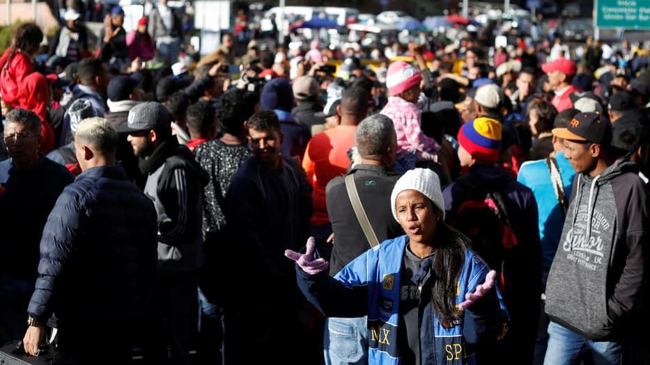 La migración forzada de venezolanos aumentará en 2020, si no se resuelve con justicia la grave crisis en Venezuela, afirma el diplomático