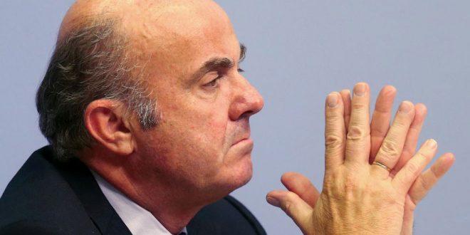De Guindos criticó que los gobiernos europeos sólo implementen el 5 por ciento de las reformas aconsejadas por la Comisión Europea.