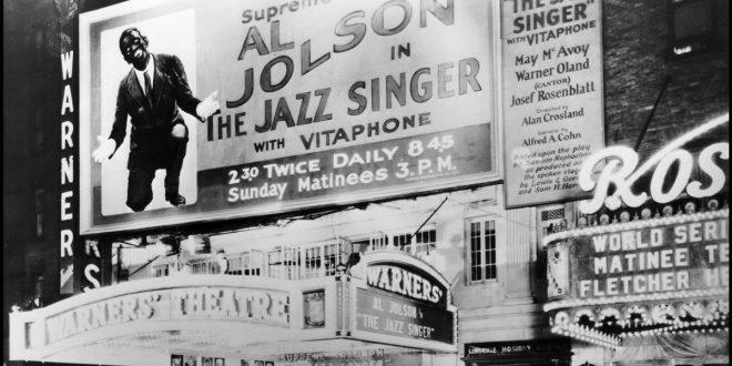 """""""El Cantor del Jazz"""", primera película sonora de la historia"""