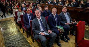 Se espera que este lunes el Tribunal Supremo de España dicte sentencia a los líderes catalanes encausados en el juicio del procés en Cataluña.