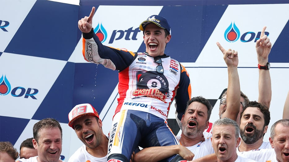 Marc Márquez, campeón de la Moto GP 2019