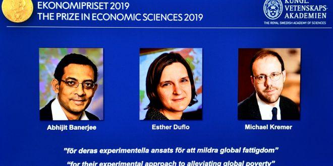 Banerjee, Duflo y Kremer reciben el Premio Nobel de Economía 2019