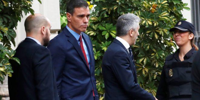 Sánchez visitó Barcelona