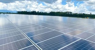 El Parque Solar Castilla, de Ecopetrol, se extiende en 18 hectáreas equivalentes a 16 canchas de fútbol/Twitter/Ecopetrol/Archivo