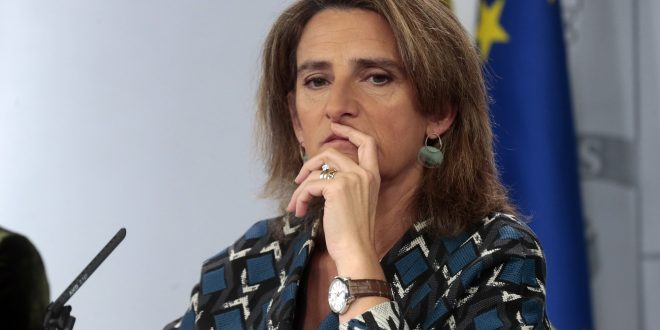 "Ministra Teresa Ribera anuncia intención de que se alcance la ""neutralidad climática"" en 2050"
