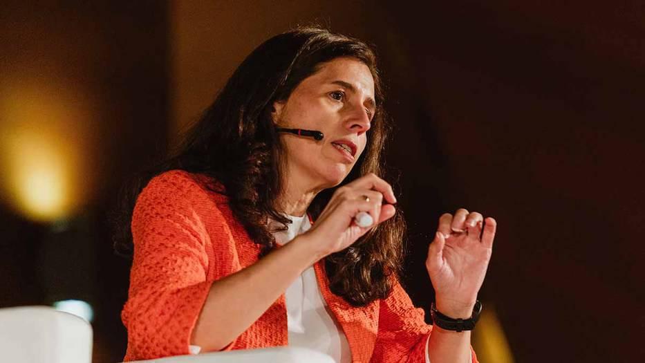 Ana Barreira, directora del Instituto Internacional de Derecho y Medio Ambiente (IIDMA. Foto: A. Santamaría