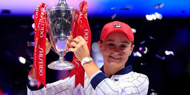 campeona de las WTA Finals 2019