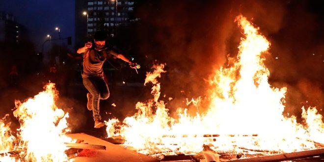 Saqueos, protestas e incendios ya dejan 24 muertos en Chile