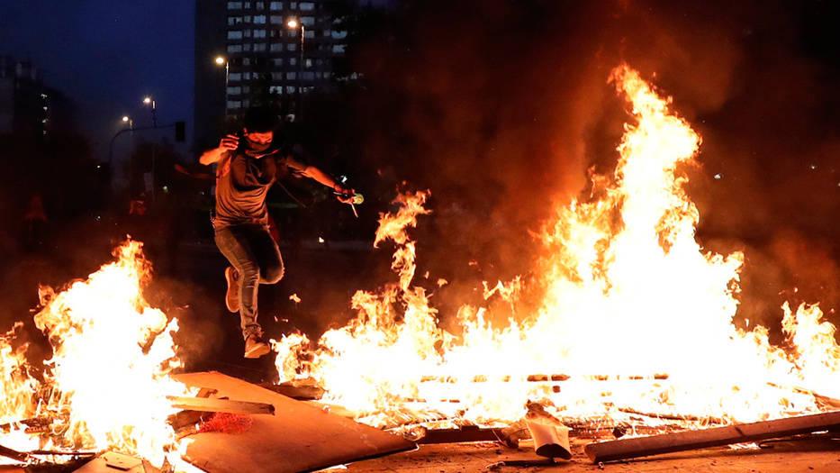 Disturbios se han presentado en ciudades de todo el país