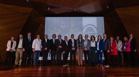 Organizadores y ponentes del I Congreso Internacional de Sostenibilidad Medioambiental