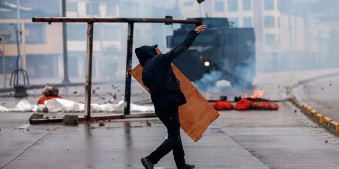 Chile y Colombia sufren las protestas, el saqueo y el vandalismo