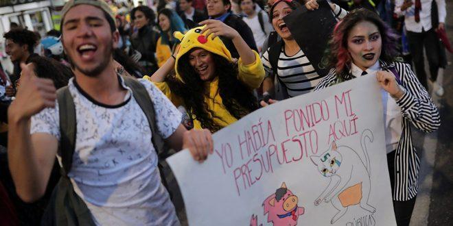 Colombia se suma con paro nacional a los reclamos sociales que agitan a Latinoamérica