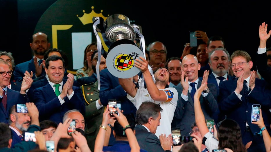 El Valencia es el actual campeón de la Copa del Rey