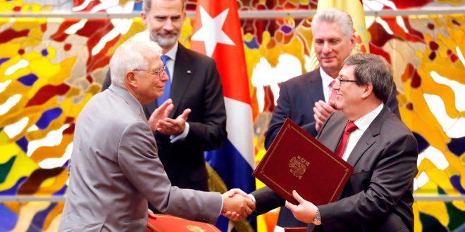 España firma acuerdo de cooperación con Cuba durante visita de los Reyes a la isla