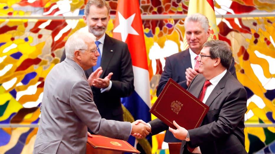 """Ambas naciones firmaron el llamado """"Marco de Asociación País"""" en La Habana."""