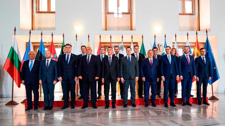 El grupo de 'Amigos de la Cohesión' se reunió en Praga para plantarse ante las medidas de la UE / Cortesía: Ministerio de Exteriores de España.