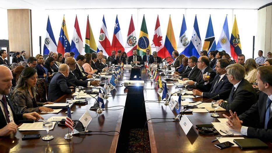 Los cancilleres del Grupo de Lima analizaron la compleja crisis venezolanal/Ministério das Relações Exteriores Web