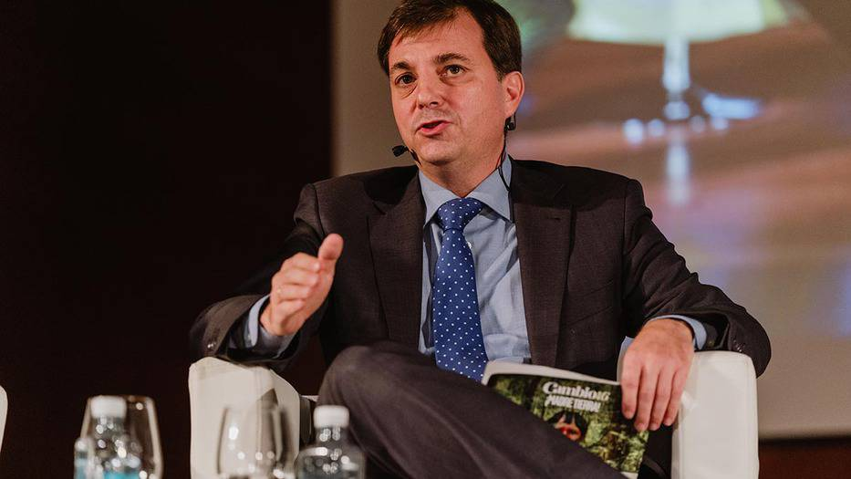 Juan A. López Abadía, director de optimización de energía y medio ambiente de Damm. (Foto: Á. Santamaría)