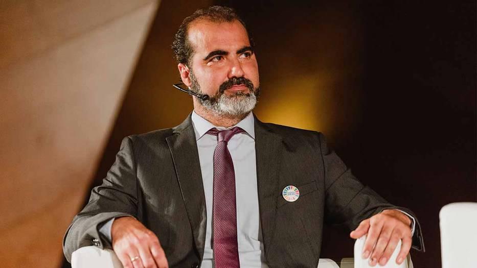 Javier de los Nietos, alcalde de El Boalo, Cerceda y Mataelpino. Foto: A. Santamaría