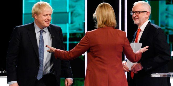 Johnson venció a Corbyn en primer debate televisivo de cara a las elecciones