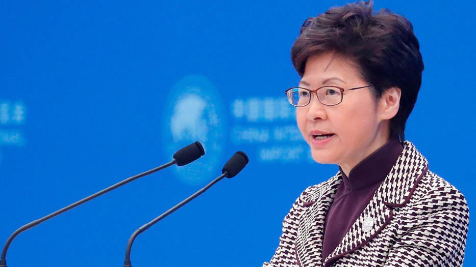 La gobernadora de Hong Kong enfrenta la peor crisis desde que la región se independizó del Reino Unido en 1997
