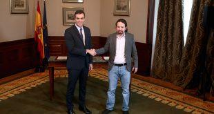 Líderes políticos divididos ante el acuerdo PSOE-Podemos para investidura de Sánchez