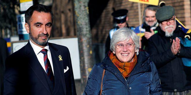 Clara Ponsatí se entregó a la policía escocesa tras activación de la orden europea de detención