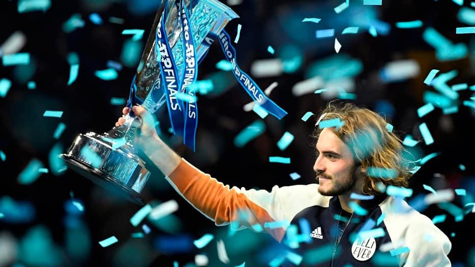 El heleno es el tenista más joven en ganar el torneo Finals ATP