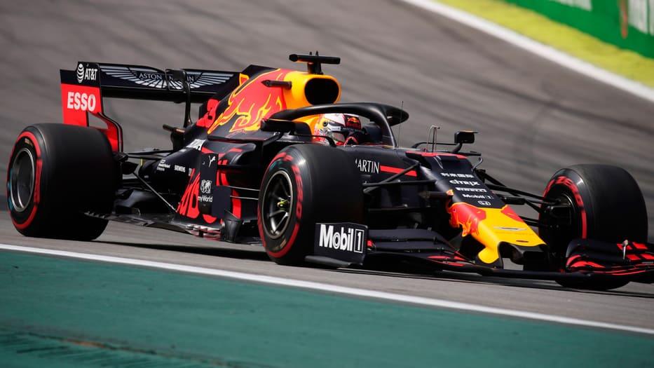El Red Bull de Verstappen fue un misil en el GP de Brasil