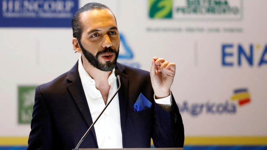 El presidente salvadoreño Nayib Bukele reconoce a Juan Guaidó como presidente de Venezuela y no a Nicolás Maduro.