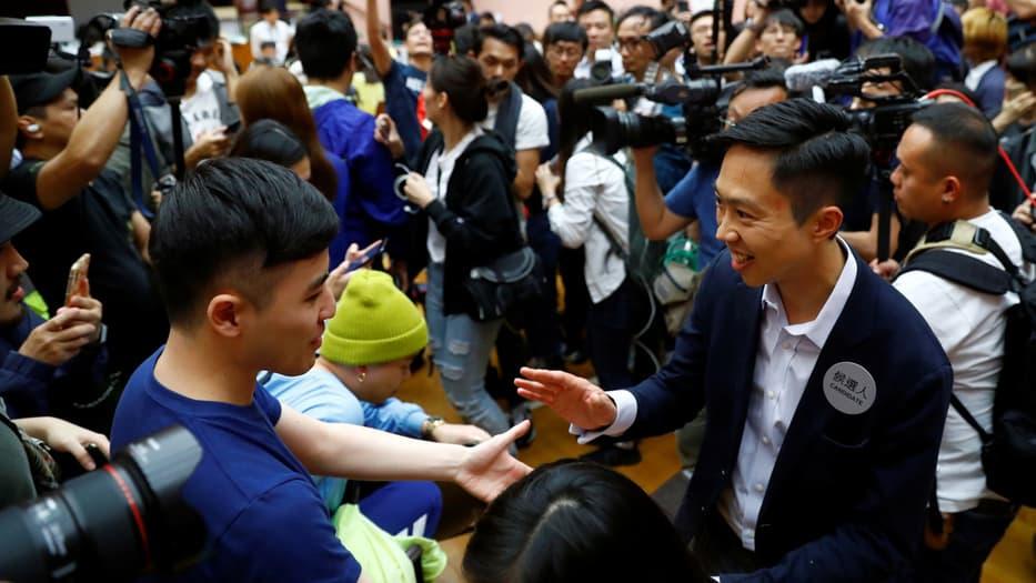Hong Kong elecciones
