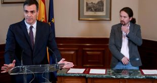 El acuerdo suscrito este martes entre Pedro Sánchez y Pablo Iglesias para facilitar la investidura presidencial del líder del PSOE generaron múltiples y variadas reacciones del sector político español