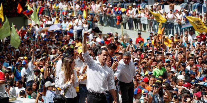 """Juan Guaidó a los venezolanos: """"la lucha es hasta lograr el cese de la usurpación"""""""