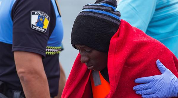 79 migrantes fueron rescatados en las costas de Gran Canaria