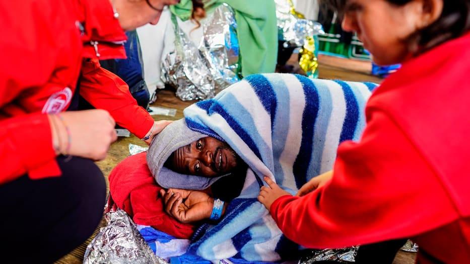 Los rescates de migrantes e la deriva en el Mediterráneo han sido una constante en esta última semana