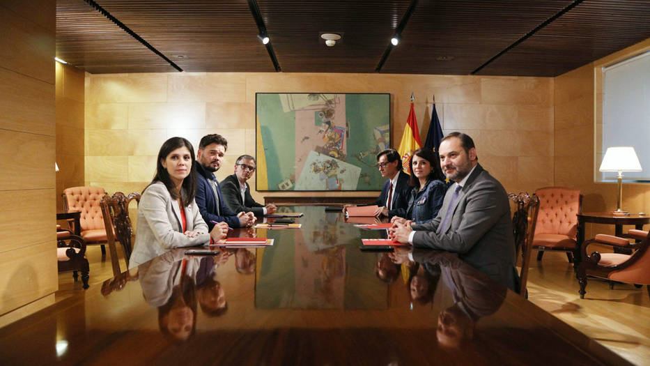 Los dos  grupos de negociación