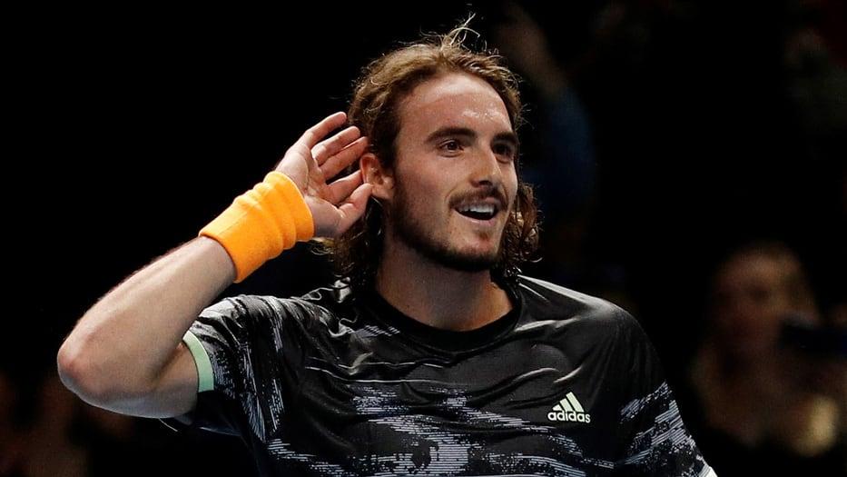Stefanos Tsitsipas jugará la final de las ATP Finals