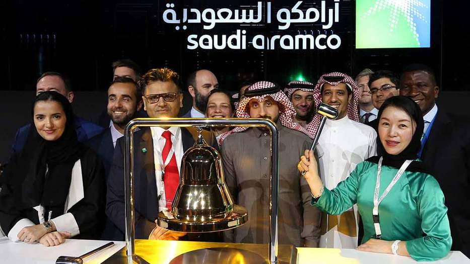 Durante la jornada en la Bolsa de Riad (Tadawul), la acción de la petrolera escaló hasta los 9,39 dólares (8,47 euros), lo que la convierte en la mayor empresa cotizada del mundo.