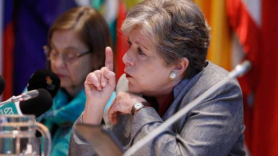 La secretaria ejecutiva del organismo, Alicia Bárcena, señala que el bloque muestra una desaceleración generalizada, tras seis años consecutivos de bajo crecimiento