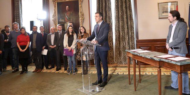 Acuerdo PSOE Podemos