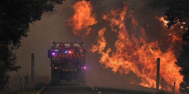 Catastróficos son los incendios desatados en Australia