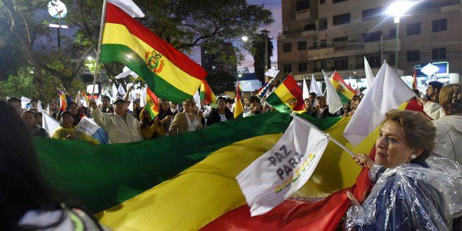 El fraude electoral en Bolivia ocasionó acciones de calle