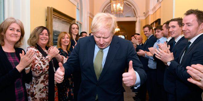 Luz verde para el Brexit tras aplastante victoria de Boris Johnson en Reino Unido