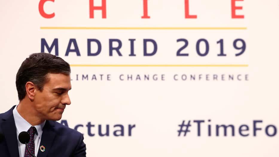 Organizaciones exhortaron al Gobierno en funciones de Pedro Sánchez aumentar su compromiso contra el cambio climático