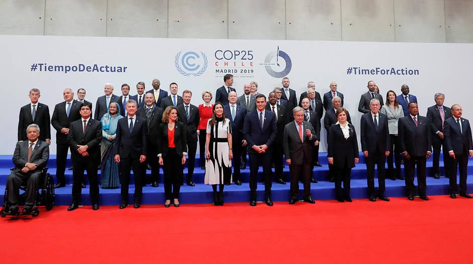 Representantes de 50 países participaron en la Mesa Redonda del COP25, y expusieron sus ambiciones climáticas