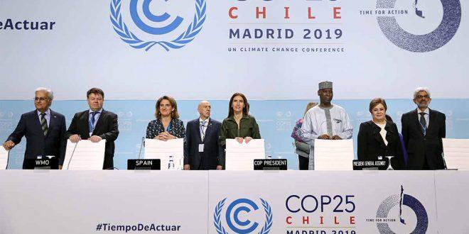 COP25: El cambio climático demanda unidad en el planeta
