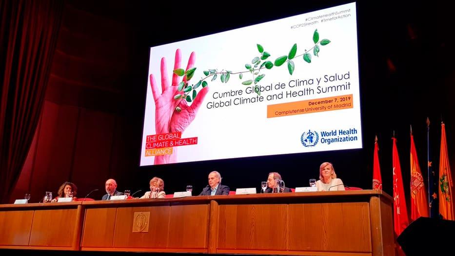 La ministra Carcedo participó en la COP25./ Cortesía: Ministerio de Sanidad, Consumo y Bienestar Social