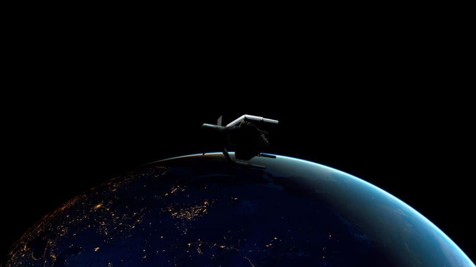 Este es el prototipo visual del ClearSpace-1. Imagen cortesía: European Space Agency (ESA)