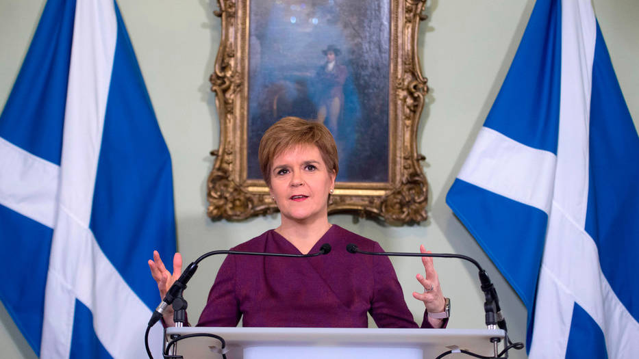 Nicola Sturgeon hizo un llamado oficial a Londres para que acceda a realizar un nuevo referéndum por la independencia