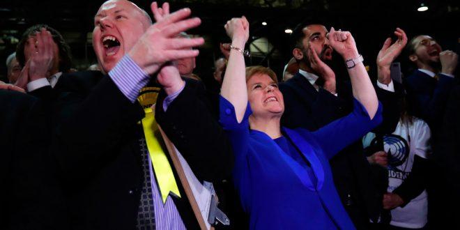 Nacionalistas de Escocia arrasaron y llamarán a referéndum por su independencia